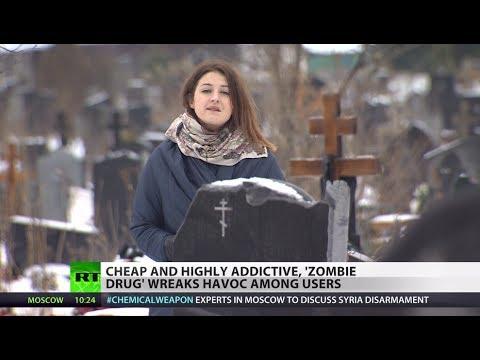 Horrific! Highly addictive 'zombie drug' wreaks havoc