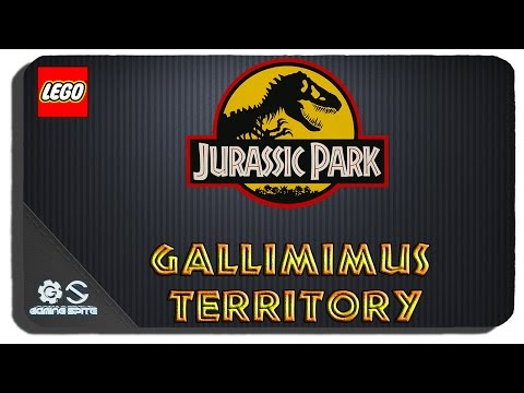 Lego Jurassic World - Gallimimus Territory Hub Area All Gold Bricks All Challenges