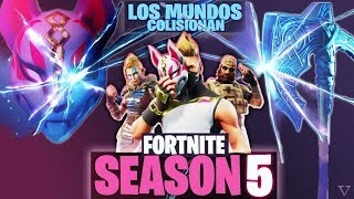 🔴 *SEASON 5* - DISCOVERING SECRETS *NEW* - FORTNITE