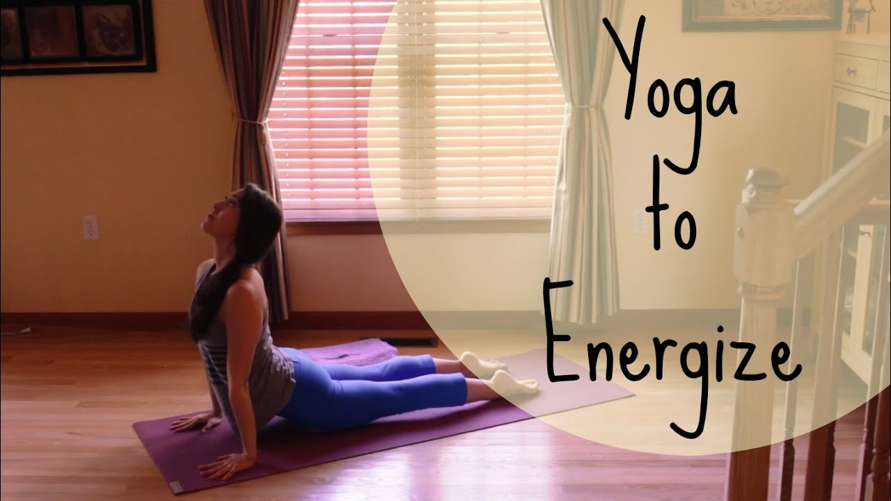 Yoga to Energize - 10 Minute Yoga Workout - Morning Yoga Routine - Yoga for  Energy