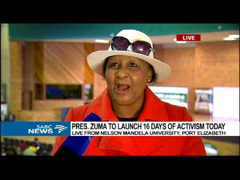 Nomsisi Bata on the launch of 16 Days of Activism