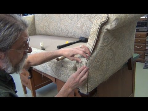 Camel Back Sofa Upholstery - Arm & Back Support Upholstery
