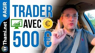 Devenir très riche en trading avec un capital de 500 € ?