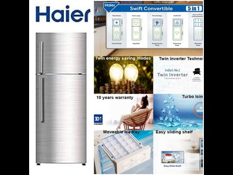 Latest Double Door Convertible Refrigerator 2020 | Features & Price Details | Rs 25000