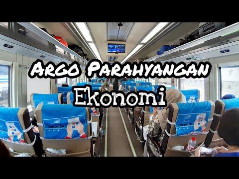 KE BANDUNG NGGAK PAKAI MACET !! REVIEW KERETA API EKONOMI AC - ARGO PARAHYANGAN YANG NYAMAN BANGET