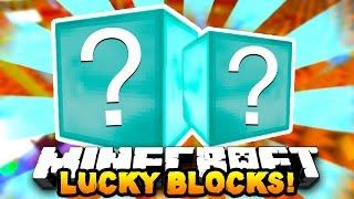 Minecraft DIAMOND LUCKY BLOCKS?! (Modded PVP Challenge) | w/ Preston & MrCrainer