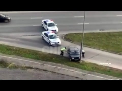 В Перми ДПС устроила погоню за пьяным водителем без прав