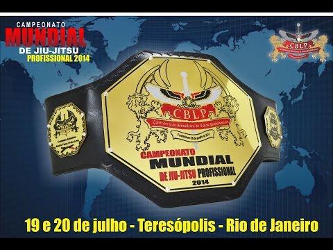 """CAMPEONATO MUNDIAL DE JIU-JITSU PROFISSIONAL 2014 - """"AO VIVO"""""""