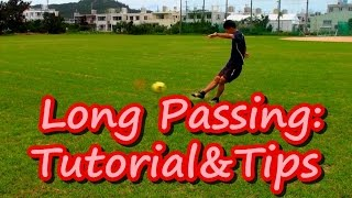 Long Passing: Tutorial&Tips(English) | Football/Soccer