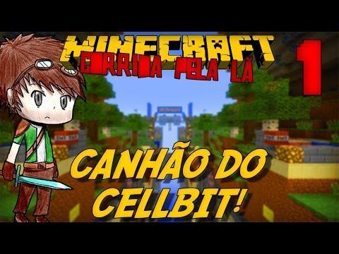 Minecraft: CORRIDA PELA LÃ - O Canhão! #1