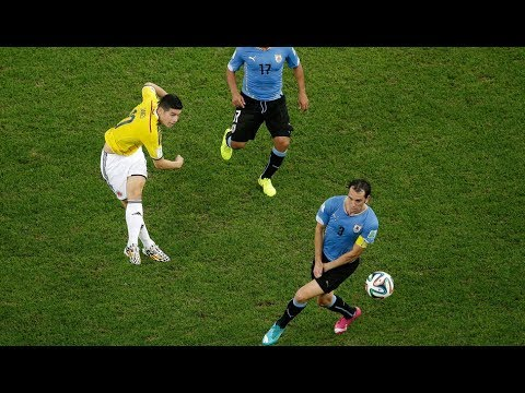 On this day in 2014, James Rodriguez scored an outrageous goal against Uruguay in the Round of 16. He also managed to score another goal and to confirm Colombia's pass in the quarterfinals.