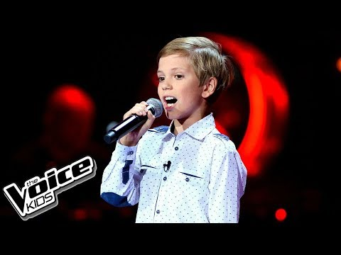"Oskar Gomółka – ""The Winner Takes It All"" – Blind Audition – The Voice Kids Poland"