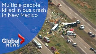 Police report fatalities in New Mexico bus crash