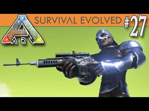 ARK: Survival Evolved - Fabricated Sniper Rifle E27