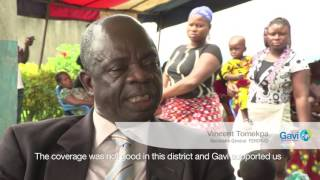 Immunisation in Côte d'Ivoire on the road to recovery