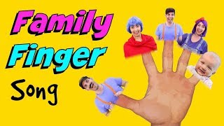 Daddy Finger (where are you) Song - Sing Along The Family Finger Song - ESL Kids