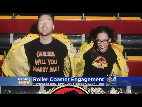 Trending: Jurassic Park Ride Ends With Proposal