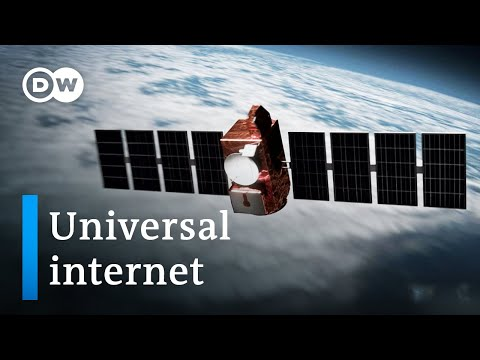 Internet from space   DW Documentary