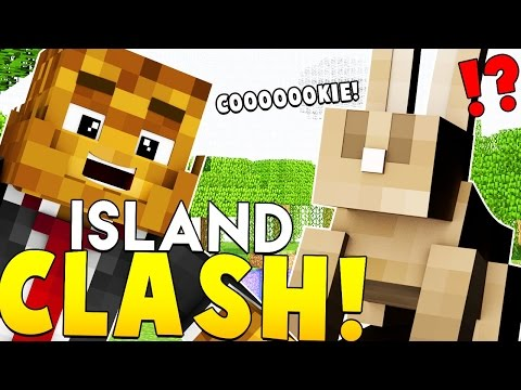 EPIC KINGDOM, WAR, WEAPONS + MORE - Minecraft ISLAND CLASH #1