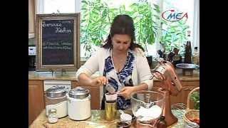 Samira's Kitchen # 67 Mediterranean Chicken, Feta Roasted Tomatoes, Strawberry Chocolate Cake