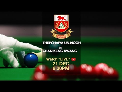 Thepchaiya Un-Nooh vs Chan Keng Kwang | Singapore Snooker Open 2016 Exhibition Match
