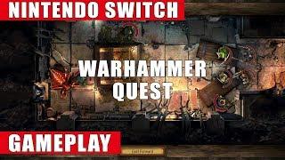 Warhammer Quest Nintendo Switch Gameplay