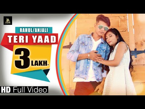 TERI YAAD II RAHUL BALI & ANJALI SANDAL ll latest song 2018 ll LABEL YDW PRODUCTION