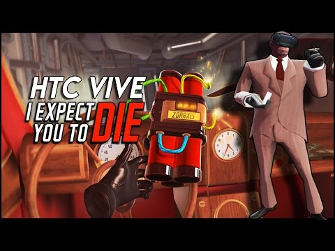 James Bond Loves Alcohol ► I EXPECT YOU TO DIE ( HTC VIVE )