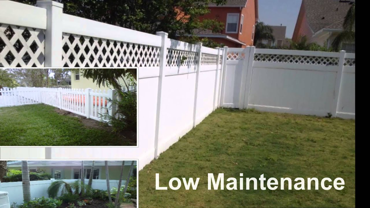 made in usa vinyl fence youtube