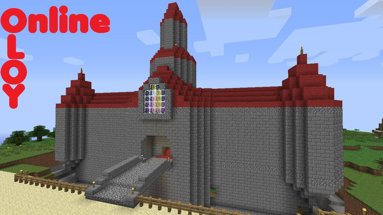 Survival Minecraft Super Mario 64 Peach\'s Castle (download available when  people ask for it ;)