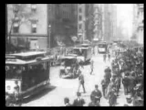 Lower Broadway 1903
