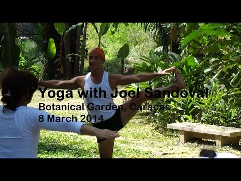 Yoga in Venezuela with Maestro Joel Sandoval