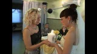 Передача семейного очага на свадьбе