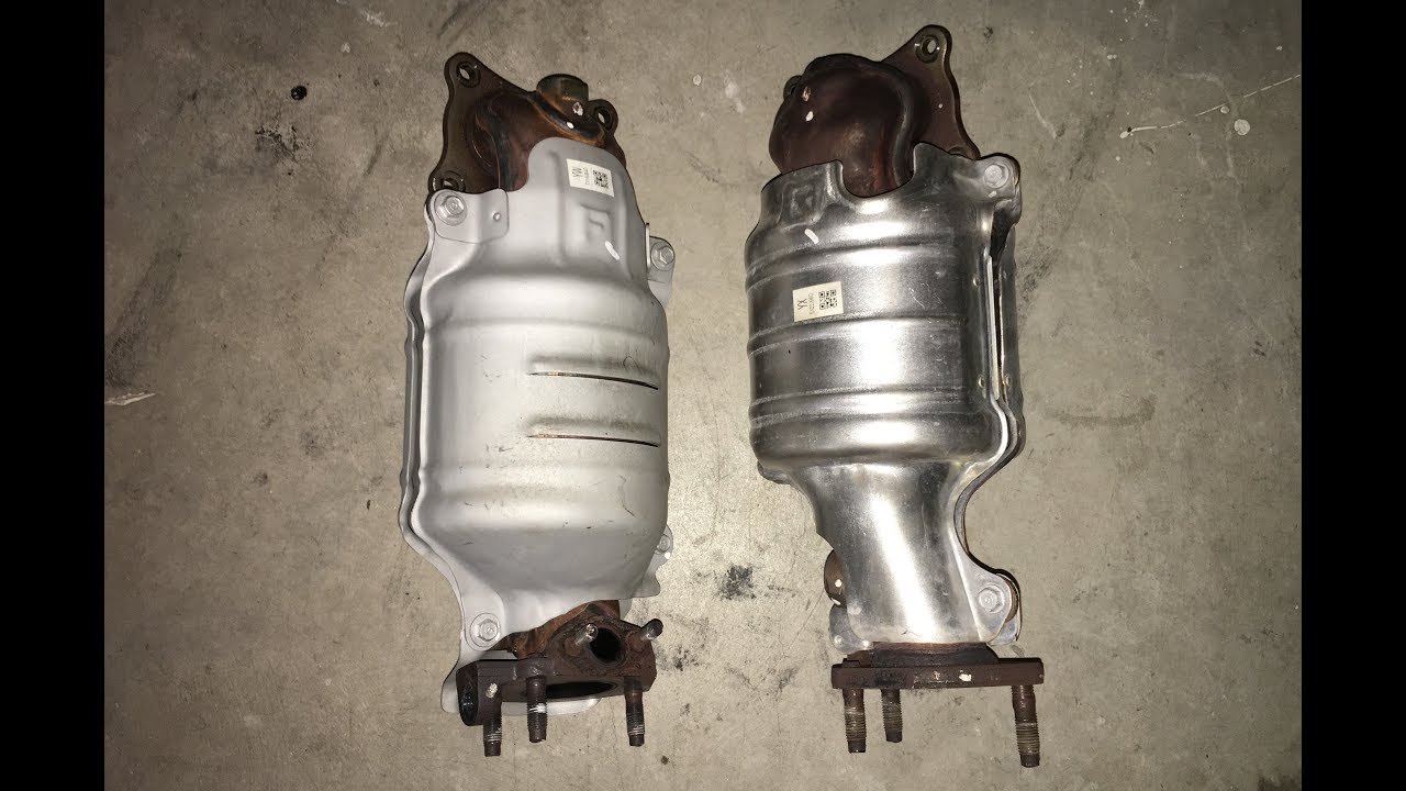 2017 Honda Odyssey Catalytic Converter Removal Bank 1 2