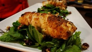 """How To Make """"roasted Rosemary Chicken With Goat Cheese Stuffing"""" #killercartercooking"""