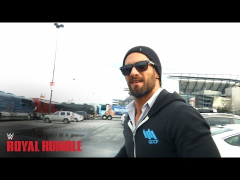 Superstars And Divas Arrive In Philadelphia For The Royal Rumble