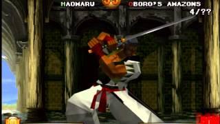 Samurai Shodown Warriors Rage Gameplay PS1