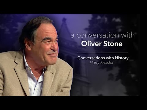 Movies, Politics and History with Oliver Stone  Conversations with History