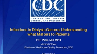 Infections in Dialysis Centers Webinar