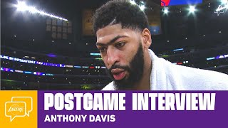 Lakers Postgame Walk-off: Anthony Davis (12/8/19)