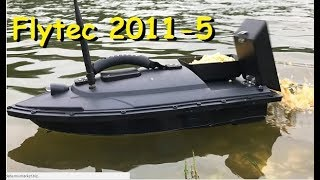 Прикормочный кораблик Flytec 2011-5 | MikeRC 2018 FHD