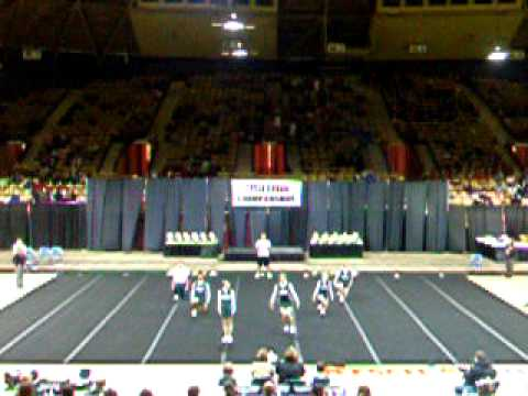 Adams-Friendship High School State Cheerleading 2010