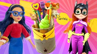 DIY Superpower Hacks with DC Super Hero Girls