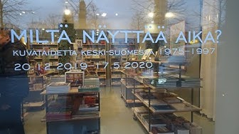 """""""Miltä näyttää aika?"""" Näyttely Jyväskylän taidemuseon kokoelmista."""