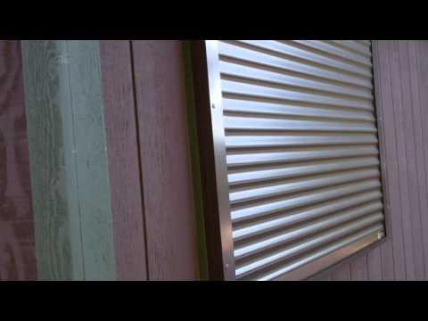 Rolling Shutters Security Shutters on Cabin