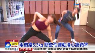 14天瘦6.3kg  韓情侶瘦身影片暴紅│中視新聞 20171104