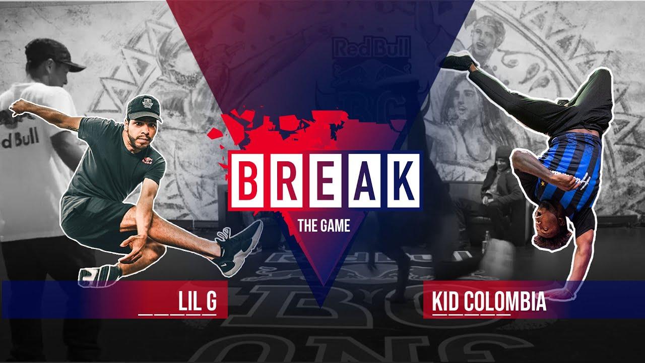 B-Boy Lil G vs. B-Boy Kid Colombia | Red Bull Break The Game 2020