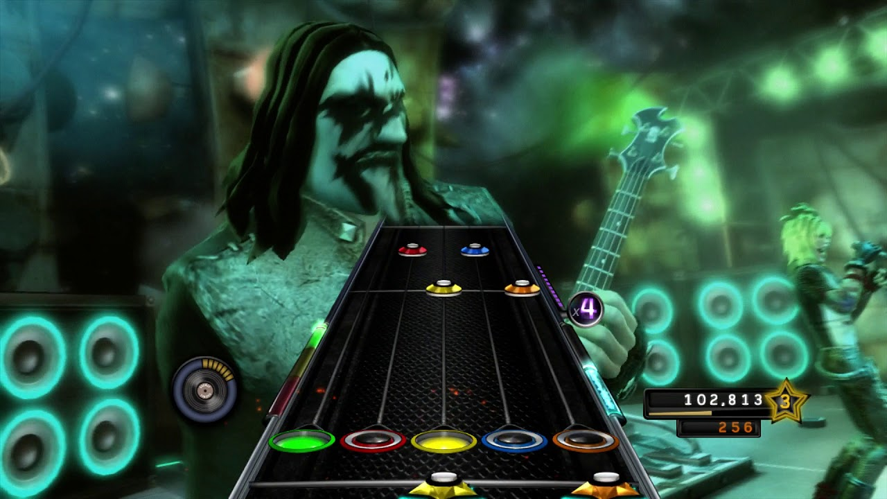 Download Guitar Hero 5 Lonely Is The Night Expert Guitar 100% FC (363865)