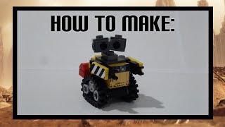 How to make Lego WALL-E