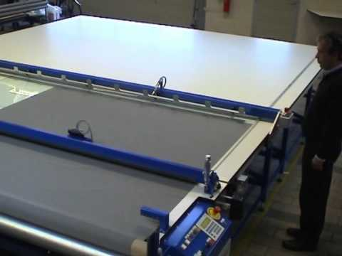 ASCO Programmable Cutting Table for Made-to-Measure Roller Blinds